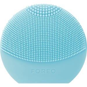 FOREO LUNA play plus, reisefreundliche Gesichtsmassagegerät, Mint, austauschbare Batterie und wasserfestes Hautpflege-Gerät