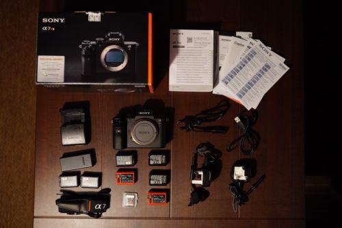 Sony a7r II (A7R2 A7 R2 a7rII) Ovp mit Extras