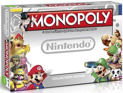 Nintendo Gamer Super Mario Monopoly Brettspiel Gesellschaftsspiel Zelda NEU