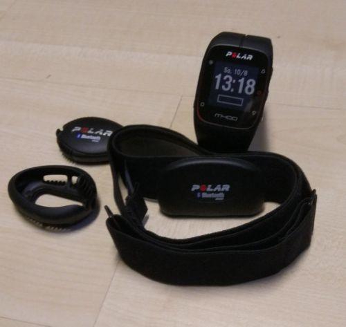 POLAR M400 - GPS Laufuhr mit Brustgurt und Schuhsensor