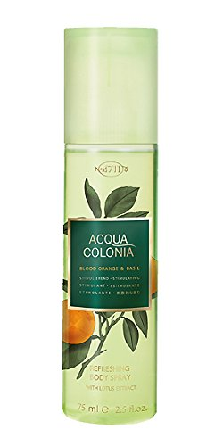 4711 Acqua Colonia Blood Orange and Basil unisex, Bodyspray, Vaporisateur / Spray 75 ml