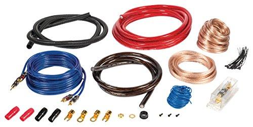 Eurosell - 1500 W Premium Car Audio Verstärker Anschlusskit L - Anlage Verstärker Auto KFZ Hifi Kabel Set Kit mit Remote Leitung Subwoofer