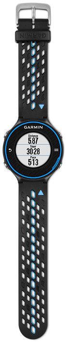 Garmin Forerunner 620 schwarz-blau, GPS Touchscreen Sport Fitness Uhr