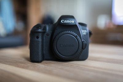 Canon EOS 6D 20,2 MP SLR-Digitalkamera (Body) !!! Sehr guter Zustand !!!