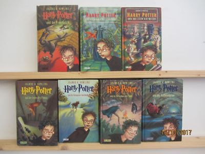 Joanne K. Rowling Harry Potter 7 Bücher Jugendromane Fantasyromane