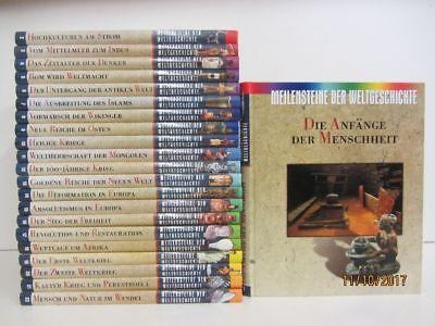 Meilensteine der Weltgeschichte in 22 Bänden Kunstgeschichte Kulturgeschichte