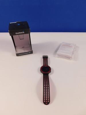 Garmin Forerunner 220 GPS-Laufuhr mit Lauf- und Trainingsfunktionen, Schwarz Rot