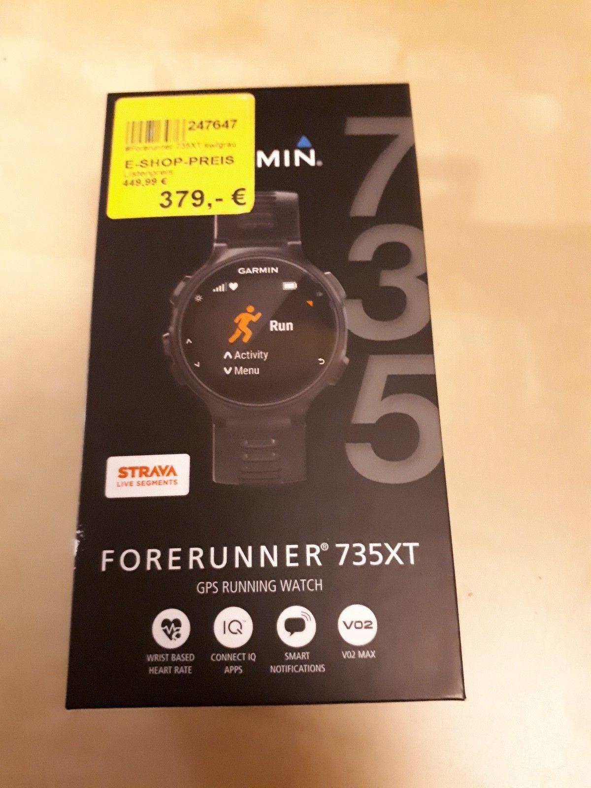 Garmin Forerunner 735XT GPS Sportuhr mit Herzfrequenzmessung am Handgelenk