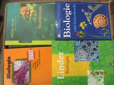 45 Bücher Biologie Bilogie Schulbücher Fachbücher