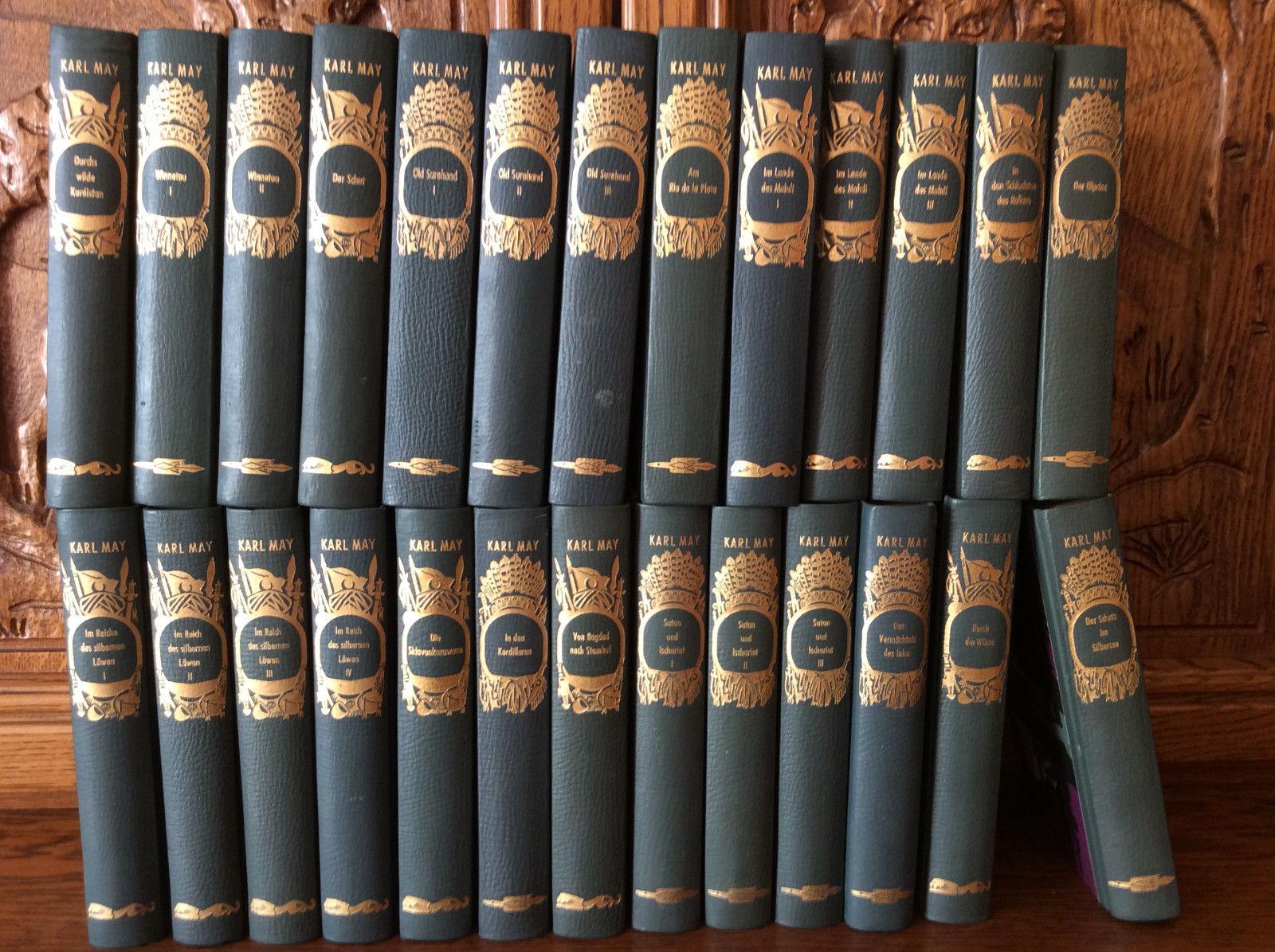 Karl May - 26 Stück - Bücher Sammlung Konvolut Paket Winnetou Old Surehand