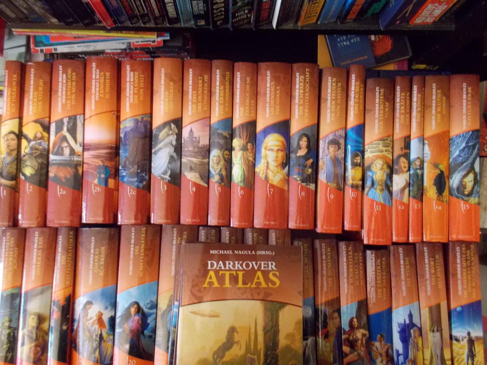 Darkover Zyklus, Marion Zimmer Bradley, alle 35 Bücher + Atlas 1 bis 5, Weltbild
