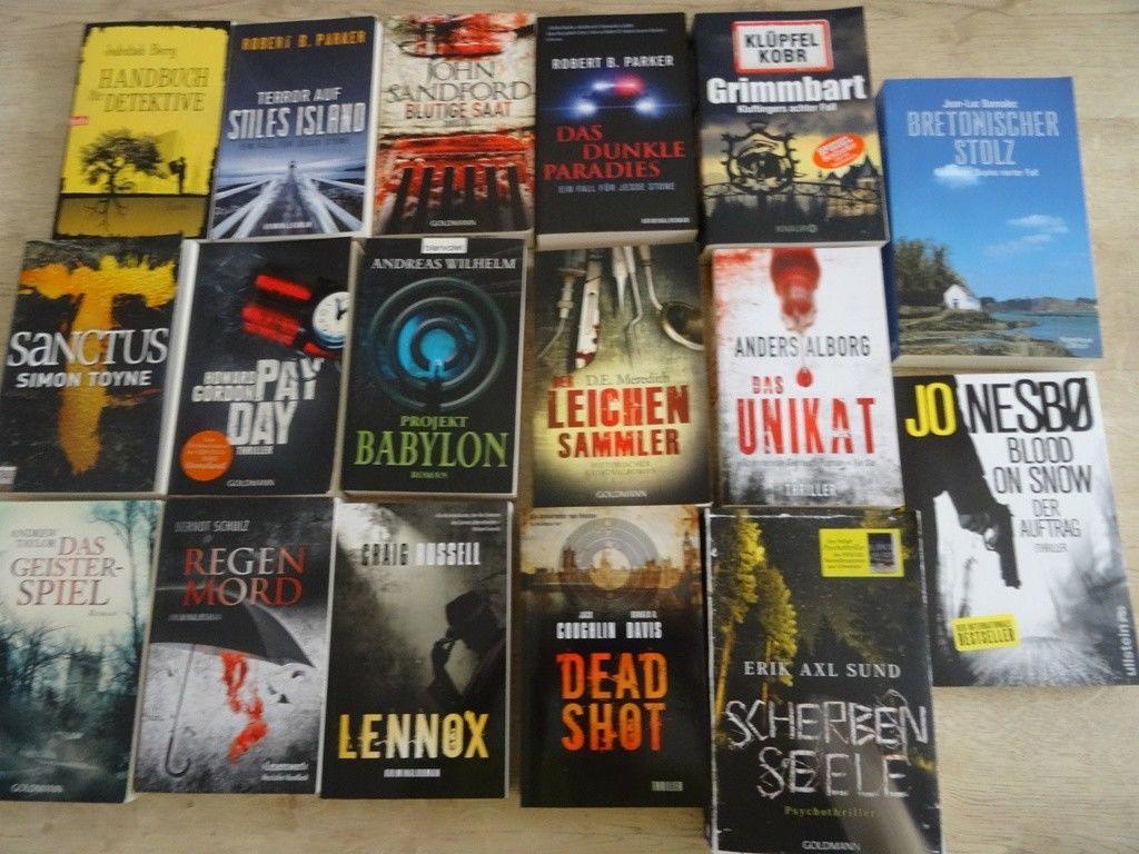 Bücher, Konvolut, 17 Stück