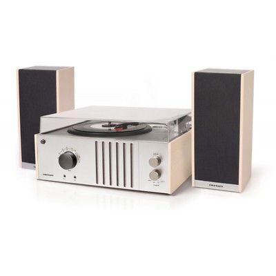 Crosley Player II Retro Vinyl Record Player Turntable - Mahogany/Grey