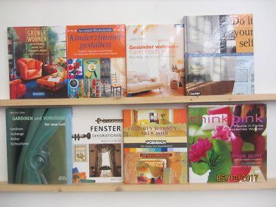 27 Bücher schönes Wohnen Einrichten Dekorieren Gesünder Wohnen grünes Wohnen