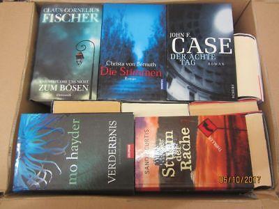 39 Bücher Romane Krimi Thriller Psychothriller  Top Titel Bestseller Paket 1