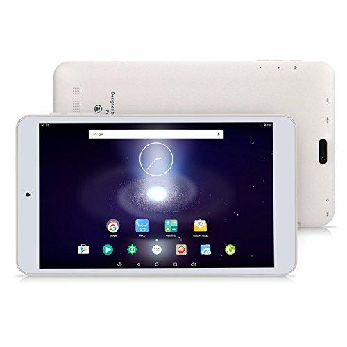 iRULU eXpro 1S Tablet PC (X1S) 8 Zoll IPS HD Display 1GB + 16GB Android 5.1 Lollipop Quad Core (Weiß)