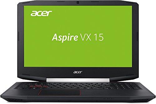 Acer Aspire VX 15 (VX5-591G-50Z1) 39,62cm (15,6 Zoll) Full HD IPS (matt) (Intel Core i5-7300HQ, 8 GB RAM, 256 GB PCIe SSD, NVIDIA, GeForce 1050 (4 GB GDDR5 VRAM), Win 10 Home) schwarz
