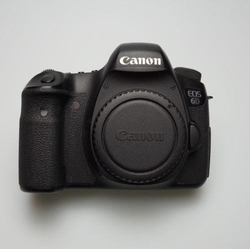 Canon EOS 6D DSLR (Body) mit original Verpackung und vielen Extras