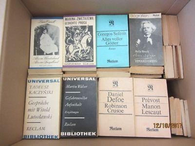130 Bücher Taschenbücher Reclam Verlag