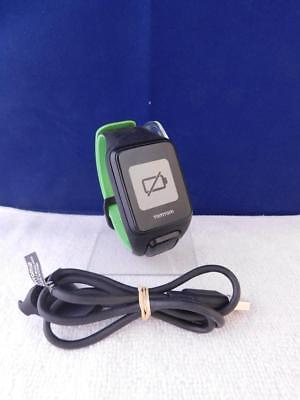 TomTom Runner 3 Cardio GPS-Sportuhr Herzfrequenzmesser Aktivitätstracker Schwarz