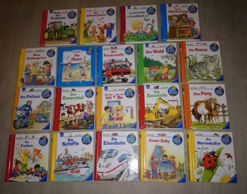 19 Bücher - Junior - Wieso? Weshalb? Warum? Junior - Ravensburger