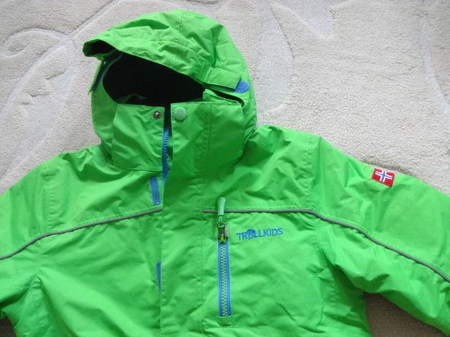 Ski-jacke , Winterjacke Gr. 128 TROLLKIDS 6000waterproof TOP !!!