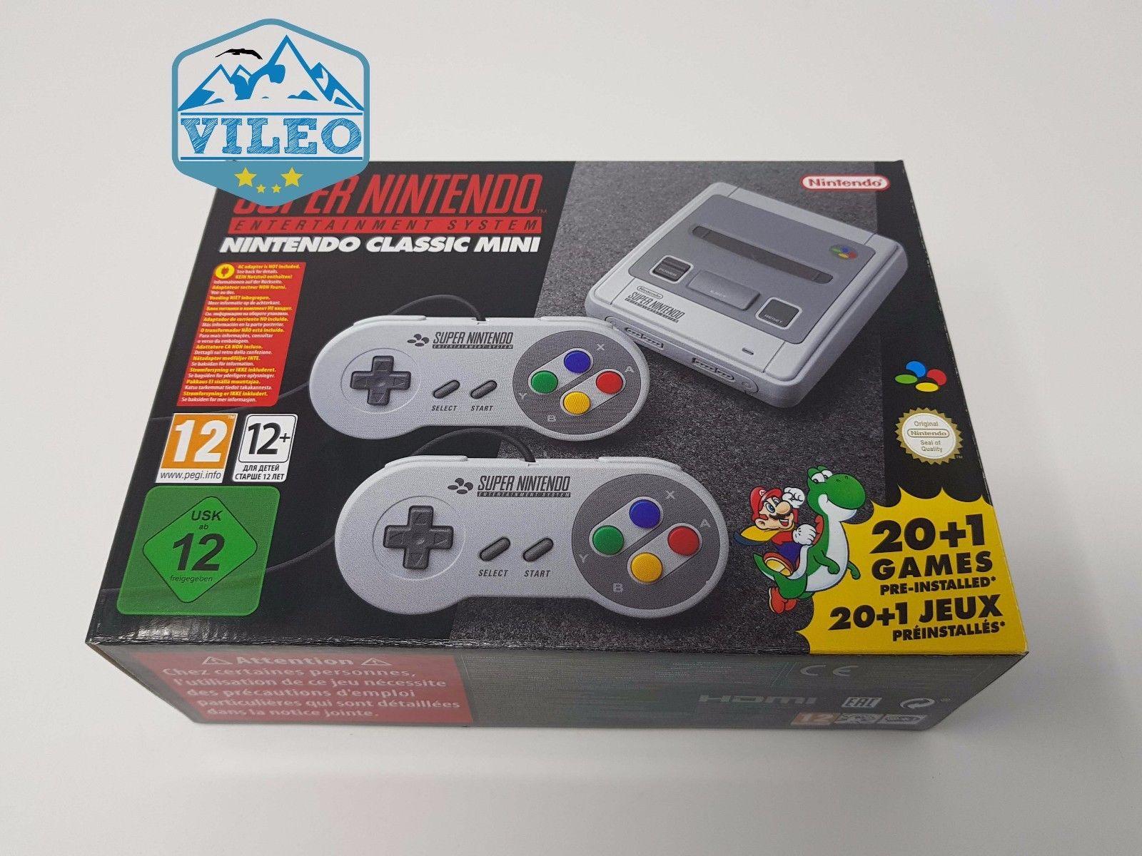 Nintendo Classic Mini: Nintendo Entertainment System NEU OVP