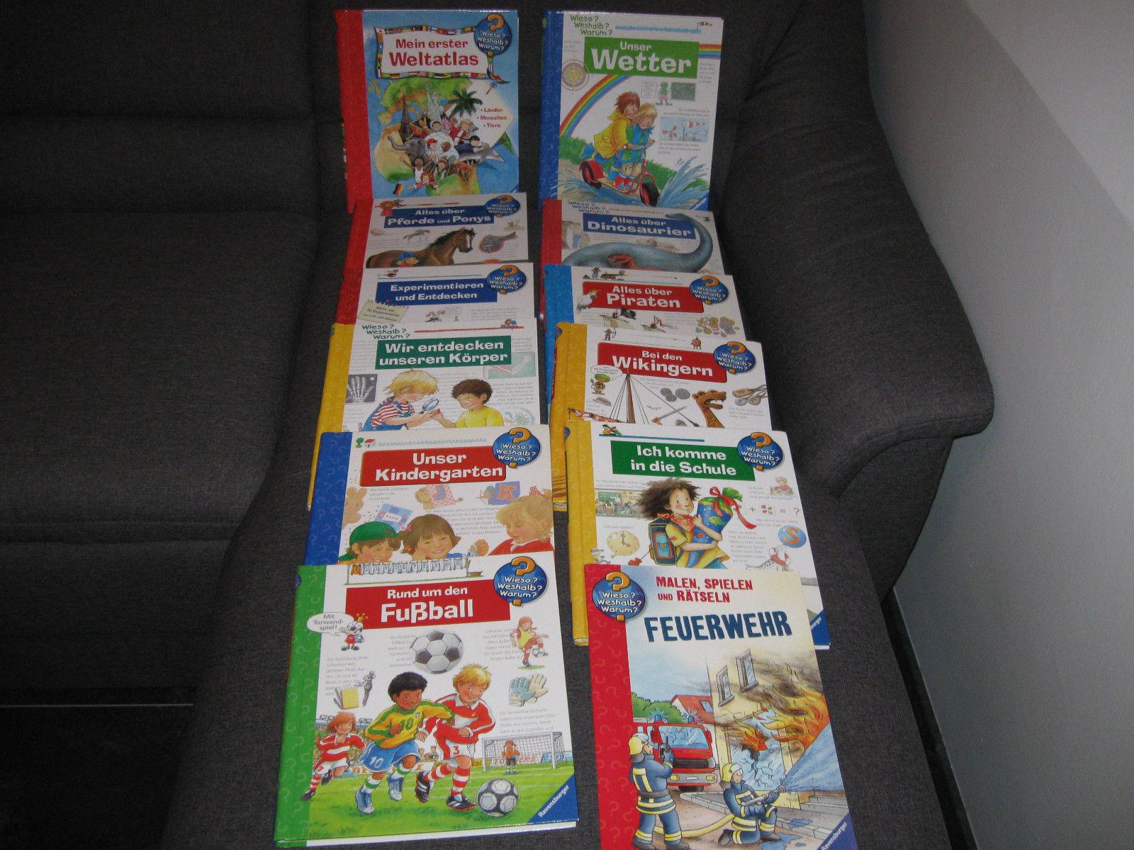 #12 Wieso Weshalb Warum Bücher Kinderbücher Sachbücher #
