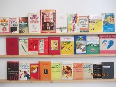 Erich Kästner 29 Bücher Romane Erzählungen Kinderbücher Weltliteratur