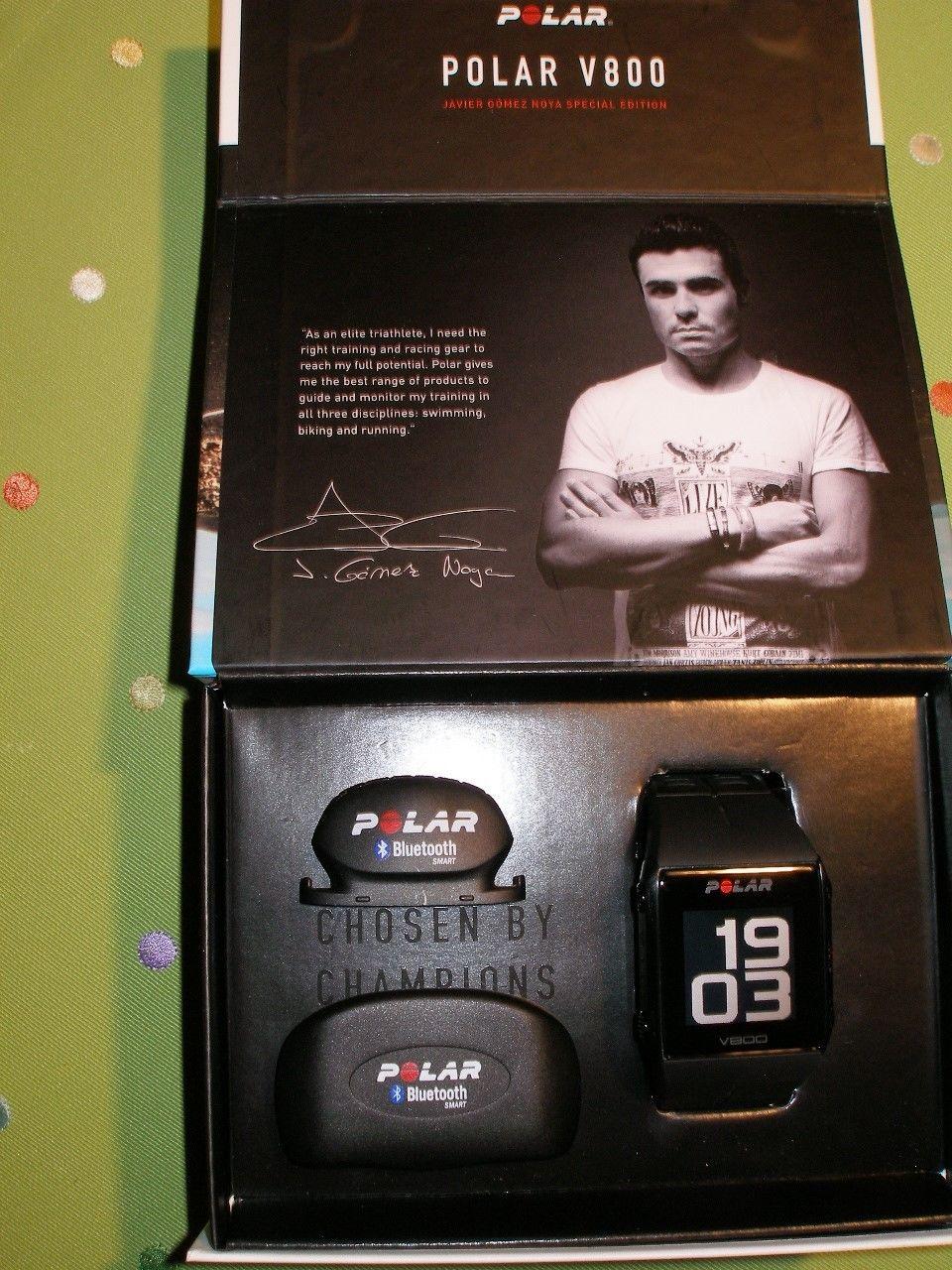 Polar V800 Laufuhr schwarz Javier Gomez Noya Special Edition