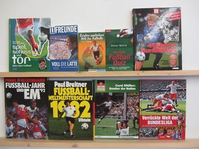 34 Bücher Bildbände Fußball Bundesliga Weltmeisterschaft Europameisterschaft