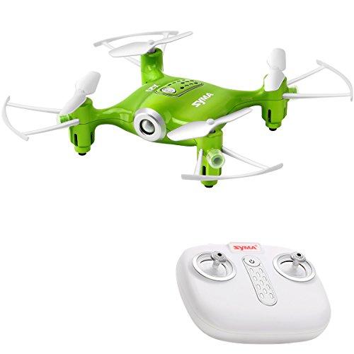 DoDoeleph Mini Drohne Syma X21 Remote Control UFO Quadrocopter 2.4G 4CH 6 Achse Spielzeug Für Kinder