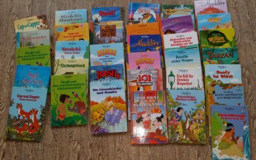34 walt disney kinderbücher sammlung paket