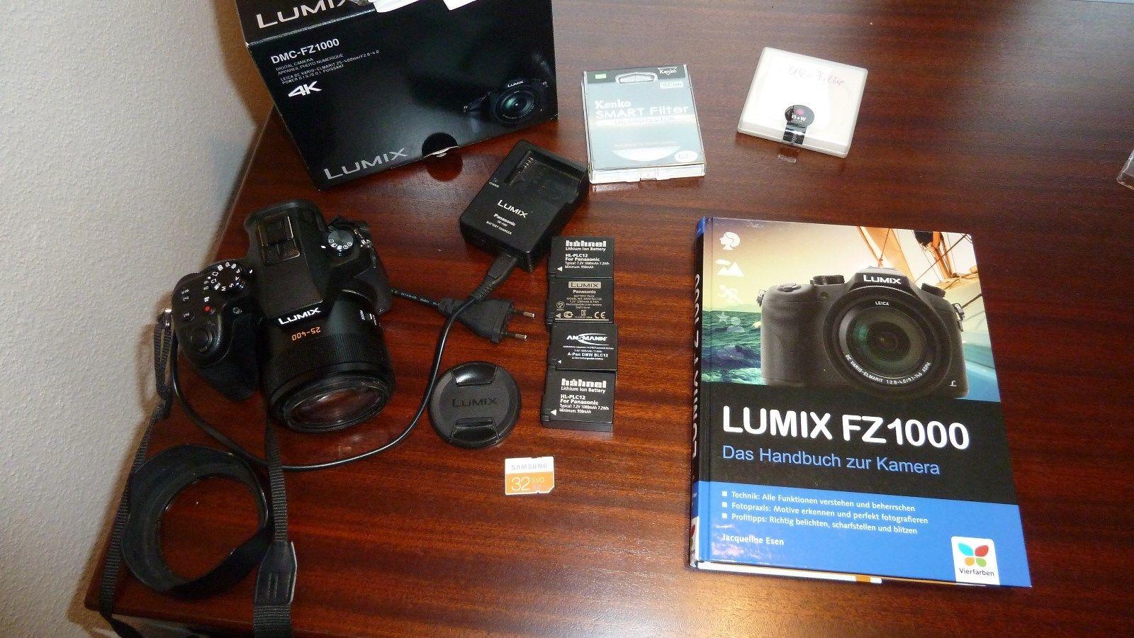 Panasonic LUMIX DMC-FZ1000 20.1 MP Digitalkamera  - geprüft ohne Fehler