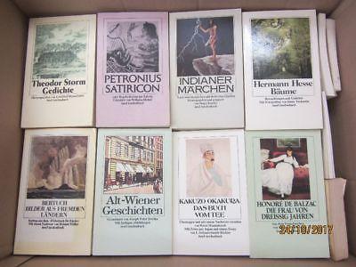 110 Bücher Taschenbücher Insel Verlag