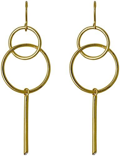 Pilgrim Damen-Ohrhänger Vergoldet - 131722023