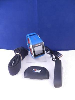 POLAR Trainingcomputer V800 Fitnessarmband Aktivitätentracker Blau