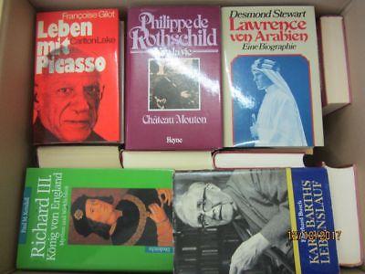 37 Bücher Biografie Biographie Memoiren Autobiografie Lebenserinnerung