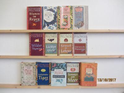 Rosamunde Pilcher 13 Bücher Romane romantische Romane Liebesromane