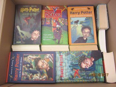 Joanne K. Rowling Harry Potter 30 Bücher Jugendromane Fantasyromane