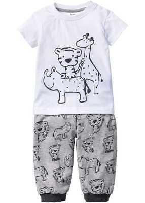 PYJAMA T-Shirt + Shirthose (2-tlg. Set) NEU! Gr 104/110 SPIELANZUG BIO-BAUMWOLLE