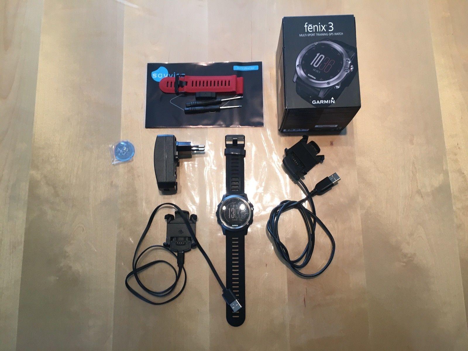 Garmin Fenix 3 Smartwatch, Armbanduhr, Sportuhr