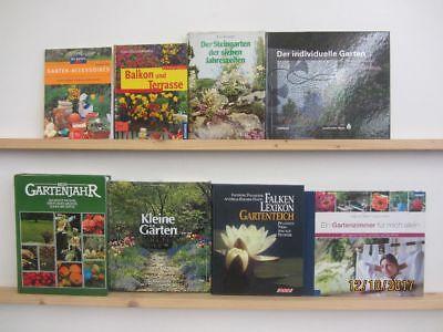38 Bücher Garten gärtnern Gartengestaltung Gartenpflege Gartenkunst