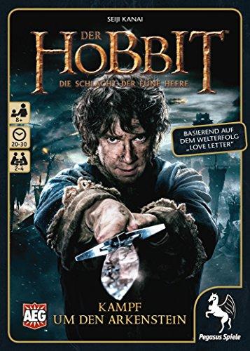 Pegasus Spiele 18226G - Der Hobbit: Kampf um den Arkenstein (Love Letter), Kartenspiele