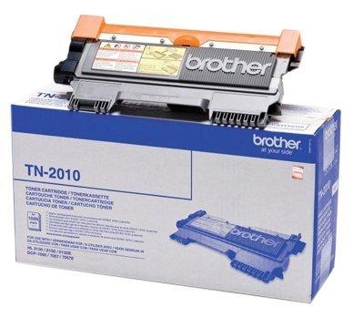 Brother Original Tonerkassette TN-2010 schwarz (für Brother HL-2130, HL-2135W, DCP-7055, DCP-7055W)