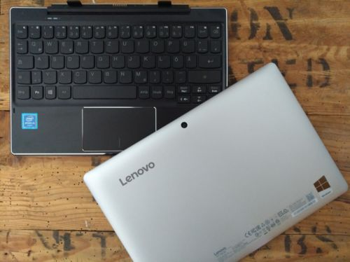 Lenovo MIIX 310-10ICR Netbook PC Notebook 64GB Flash 2GB Cam BT Dock Windows 10