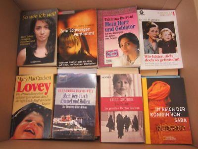 75 Bücher Schicksal Lebenstragödie Lebensgeschichte Biografie Autobiografie