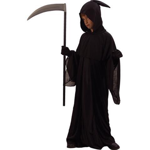 Grim Reaper Jungen Halloween / Karnival Kostüm Größe XL 11-13 Jahr (EU 146-158cm)