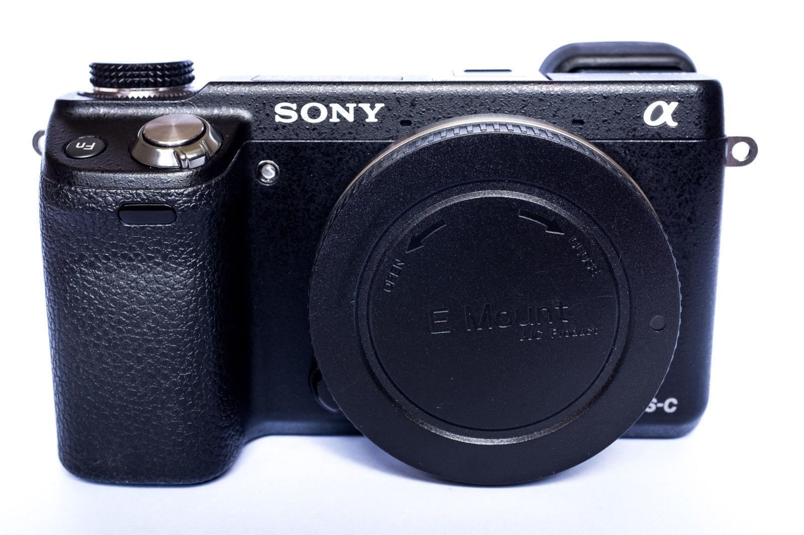 Sony Alpha NEX-6 16.1 MP Digitalkamera - Schwarz (Nur Gehäuse)