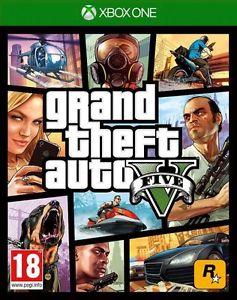 New Sealed Grand Theft Auto V ( GTA 5 ) Game (Microsoft Xbox One,2014) - UK Post